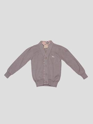 Кардиган серый | 5308921
