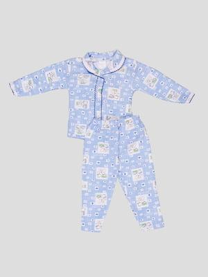 Піжама: кофта та штани | 5315986