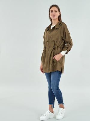 Куртка оливкового кольору | 5319601