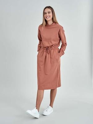 Сукня теракотова | 5319677
