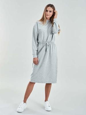Сукня світло-сіра | 5319678