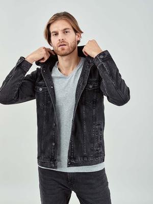 Джинсова Куртка чорна | 5319712