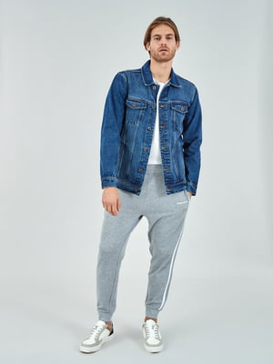Куртка синя джинсова | 5319713