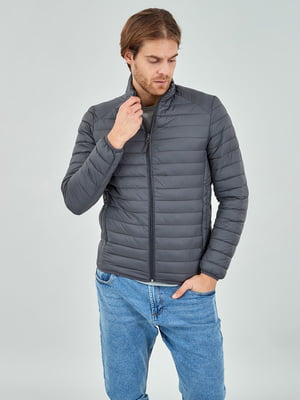 Куртка сіра | 5319716