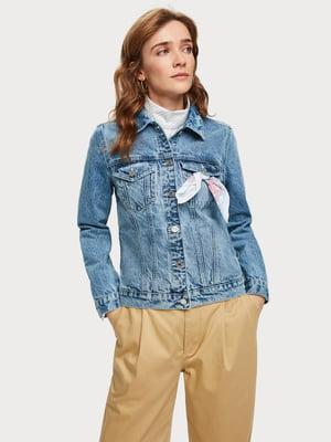 Куртка синя джинсова | 5319753