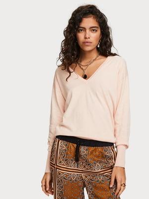 Пуловер мерехтливої кольору | 5319085