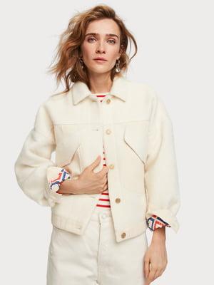 Куртка молочного кольору | 5319754