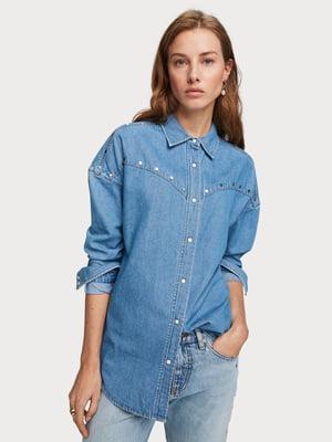 Рубашка светло-синяя | 5319850