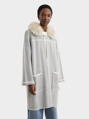 Пальто сіре | 5320046