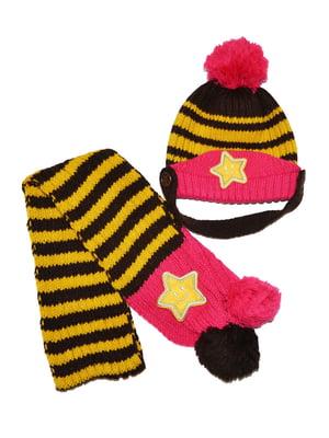 Комплект: шапка та шарф | 5320510