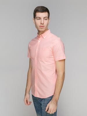 Рубашка персикового цвета   5318918