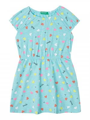Платье голубое   5320809