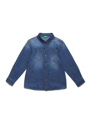 Рубашка синяя | 5320875
