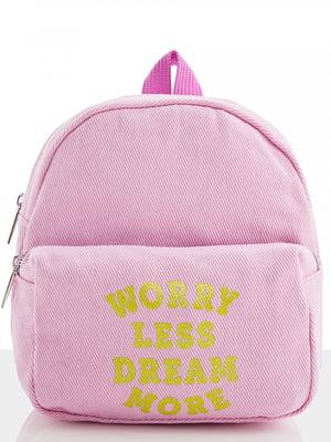 Рюкзак бузкового кольору   5320880