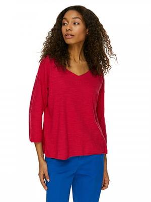 Пуловер красный | 5320929