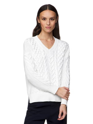 Пуловер білий | 5320963