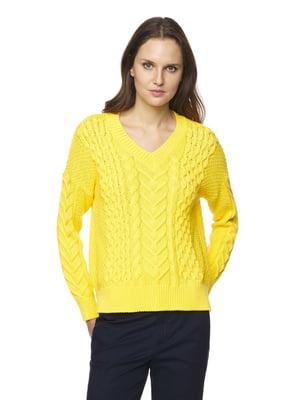 Пуловер жовтий | 5320964