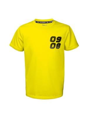 Футболка желтая | 5321276
