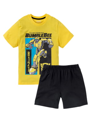 Пижама: футболка и шорты   5321371