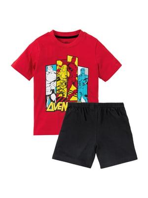 Пижама: футболка и шорты   5321375