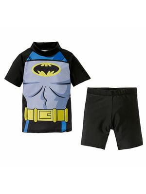 Пляжний костюм: футболка і шорти | 5321437