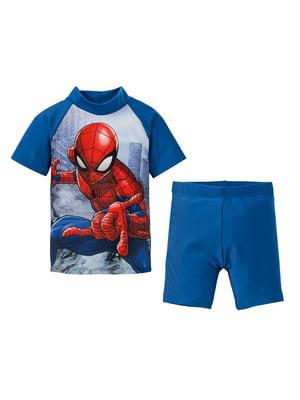 Пляжный костюм: футболка и шорты   5321444