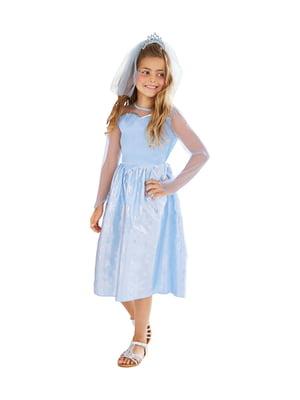 Костюм карнавальний: сукня, діадема і фата | 5321456