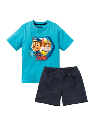 Пижама: футболка и шорты | 5321458