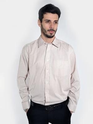 Рубашка молочного цвета | 3108454