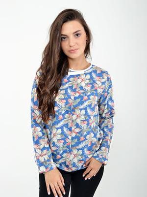 Блуза синяя | 5322273