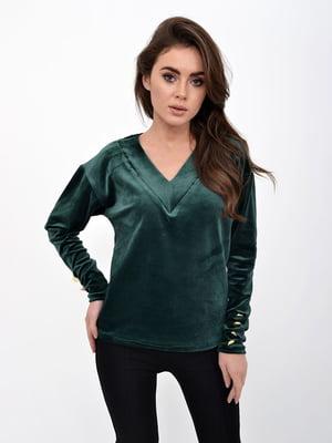 Пуловер зеленый | 5322307