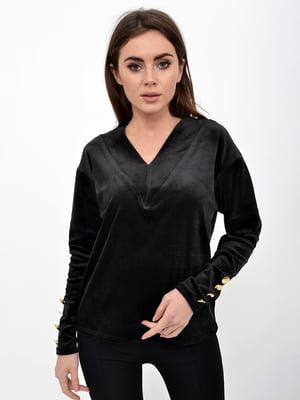 Пуловер черный | 5322308
