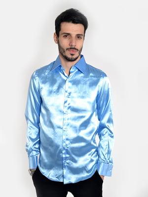 Сорочка блакитна | 5322351