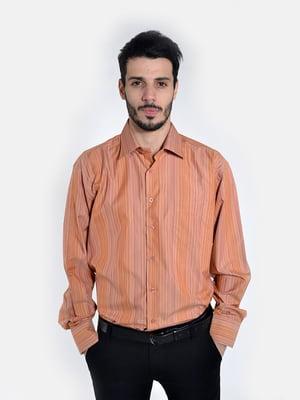 Рубашка терракотовая | 5322415