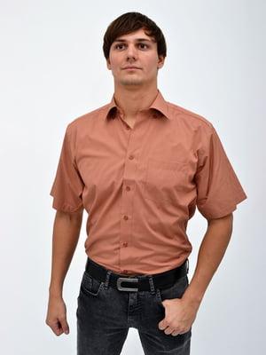 Рубашка коричневая | 5322441