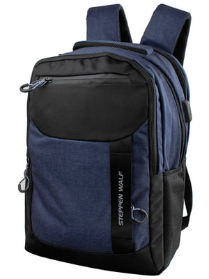 Рюкзак синьо-чорний   5322665