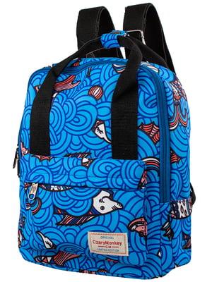 Рюкзак з принтом   5322692