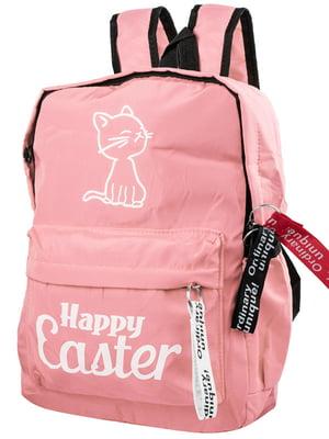 Рюкзак кольору пудри | 5322720