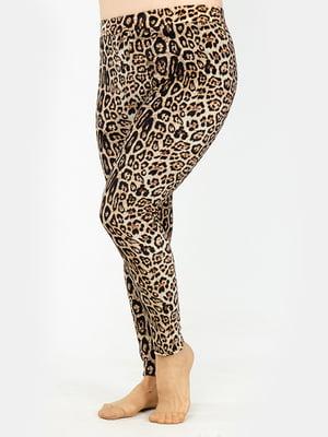Леггинсы в леопардовый принт   5323365