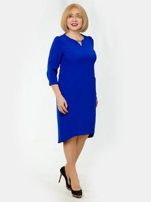Платье цвета электрик | 5323386