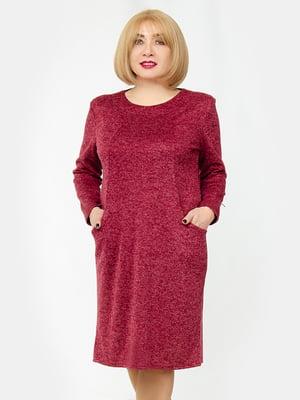 Платье бордовое | 5323389