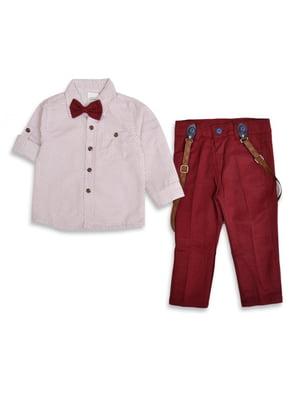 Костюм: брюки, рубашка и бабочка | 5316182