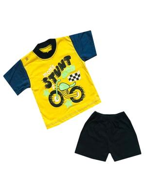 Комплект: футболка и шорты   5319577