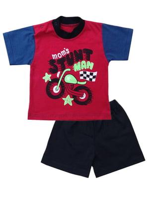 Комплект: футболка и шорты | 5319578