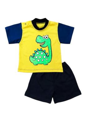 Комплект: футболка и шорты | 5319581