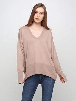 Пуловер бежевий | 5291929