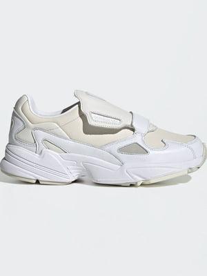 Кроссовки бело-бежевые | 5322244
