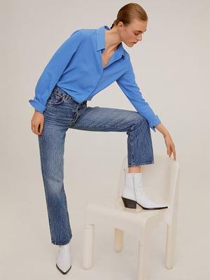 Рубашка голубая | 5322919