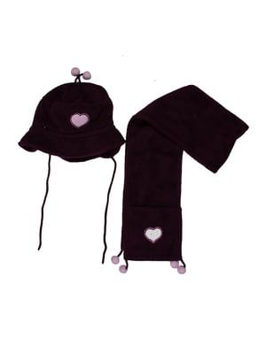Комплект: шапка і шарф | 5323190