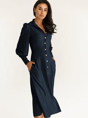 Платье синее | 5291085